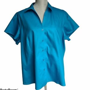 - Jones New York Button Up Blouse Size 18W